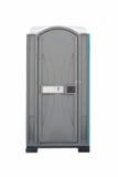 Openbaar toilet dat op witte achtergrond wordt geïsoleerd royalty-vrije stock afbeelding