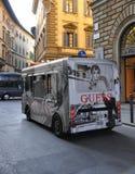 Openbaar vervoer in Florence royalty-vrije stock foto
