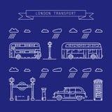 Openbaar vervoer Londen vector illustratie