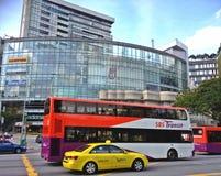 Openbaar vervoer - Singapore royalty-vrije stock fotografie