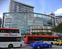Openbaar vervoer - Singapore stock afbeelding