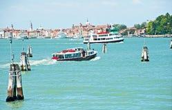 Openbaar vervoer in Venetië Royalty-vrije Stock Foto's
