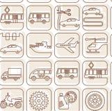 Openbaar vervoerweg als achtergrond Royalty-vrije Stock Afbeeldingen