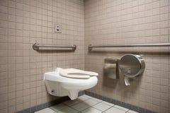 Openbare Badkamers stock afbeeldingen