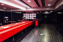 Openbare badkamers stock foto's