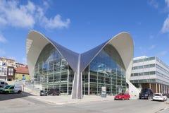 Openbare Bibliotheek en Archief in Tromso, Noorwegen Royalty-vrije Stock Afbeelding
