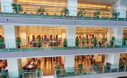 Openbare bibliotheek, Guangzhou-bibliotheek Royalty-vrije Stock Foto's