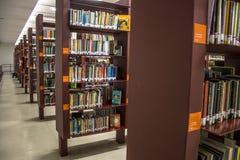 Openbare bibliotheek Mario de Andrade stock afbeeldingen