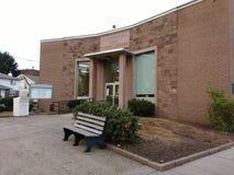 Openbare Bibliotheek, Rutherford, NJ, de V.S. royalty-vrije stock afbeeldingen