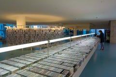 Openbare bibliotheek van Amsterdam Stock Foto's