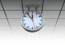 Openbare klok Stock Foto's