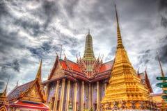 Openbare koninklijke tempel met hemelachtergrond Royalty-vrije Stock Foto