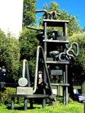 Openbare kunst in openbare ruimten, Zaal van Rechtvaardigheid, 1 stock foto's
