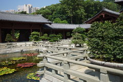 Openbare Nan Lian Garden stock foto's