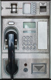 Openbare payphone kaarttelefoon Royalty-vrije Stock Afbeeldingen