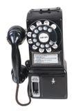 Openbare publieke telefooncel Royalty-vrije Stock Foto