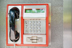 Openbare telefoon Stock Afbeelding