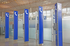 Openbare Telefoons stock afbeelding