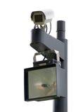 Openbare toezichtcamera stock fotografie