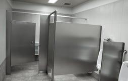 Openbare toiletbox royalty-vrije stock afbeelding