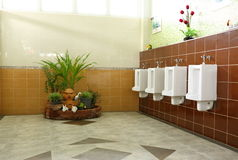 Openbare toiletruimte Royalty-vrije Stock Fotografie