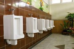 Openbare toiletruimte Royalty-vrije Stock Afbeelding
