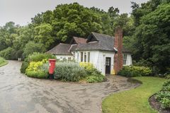 Openbare toiletten bij Osborne-Huis het Eiland Wight Stock Foto's