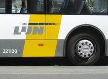 Openbare Vervoer België Stock Foto