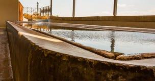 Openbare Wasserijpool in Spanje Royalty-vrije Stock Afbeeldingen