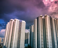 Openbare woon de huisvestingsflat van Singapore in Bukit Panjang Stock Afbeeldingen