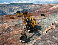 Opencast шахта Стоковое Изображение