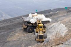 Opencast шахта Стоковая Фотография