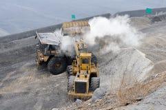 Opencast шахта Стоковая Фотография RF