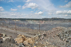 Opencast Royalty Free Stock Image