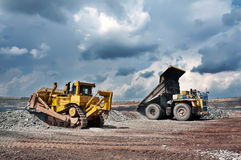 Opencast mine Royalty Free Stock Images
