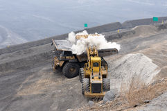 Opencast mine Stock Photography