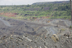 Opencast mining Stock Photography