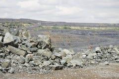 Opencast mining Royalty Free Stock Image