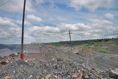 Opencast mining Stock Photo