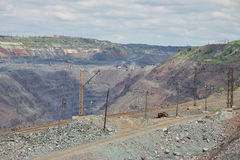 Opencast mining Stock Images