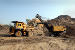Opencast Project Royalty Free Stock Photo