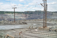 Opencast Royalty Free Stock Photo