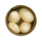 Opened может белых картошек Стоковые Фото