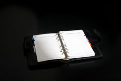Opened Address Book Stock Photography