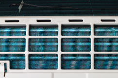 Opened air conditioner Royalty Free Stock Photos