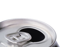 Opened Aluminum Can For Soft Drinks Stock Image