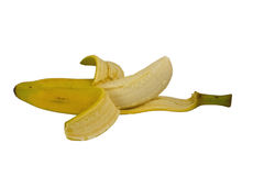 Opened Banana Royalty Free Stock Image