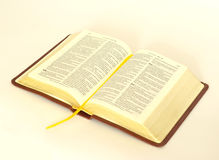 Opened bible Royalty Free Stock Image