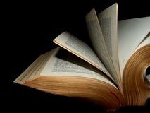 Opened Bible Stock Image