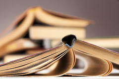Opened big book Royalty Free Stock Image